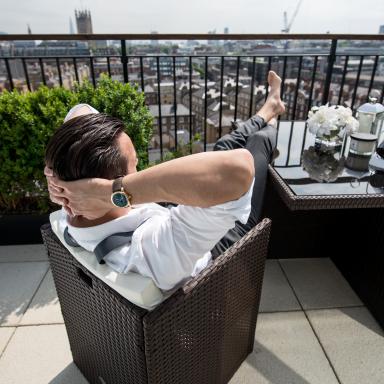 Image : The life of Adam, luxury watch icon